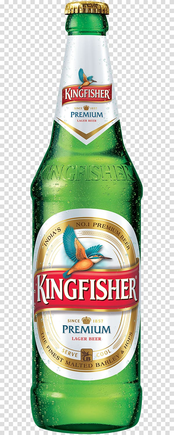 Lager Beer in India Kingfisher Distilled beverage.