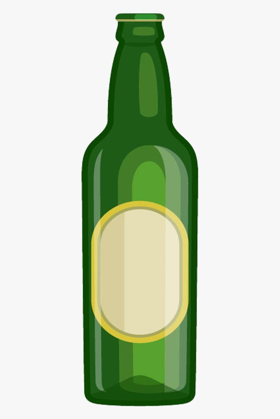 Graffiti Beer Bottle , Free Transparent Clipart.
