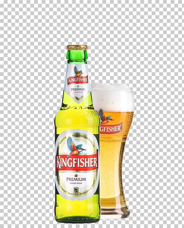 Lager Beer cocktail Kingfisher Beer bottle, Kingfisher Beer.