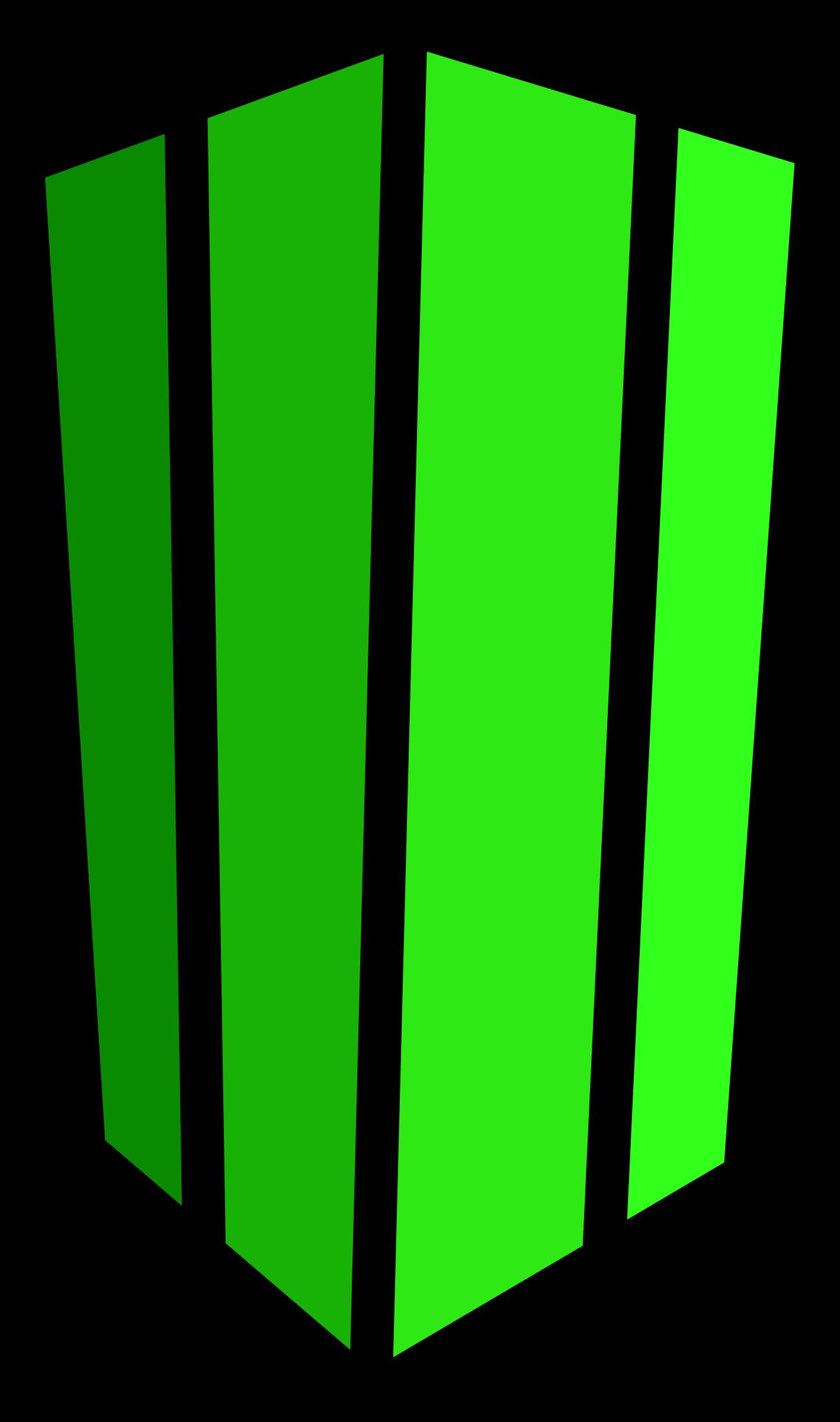 Minecraft Cactus Vector Clipart image.