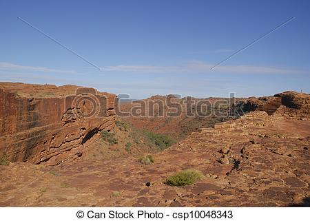 Stock Photo of Kings Canyon Watarrka Australia.