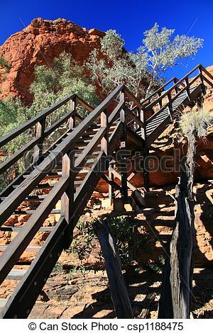 Stock Images of Steel Staircase.