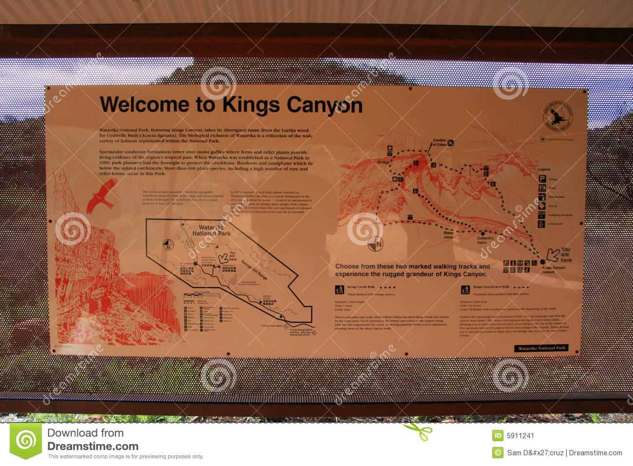 Kings Canyon, Watarrka National Park, Australia Stock Photography.