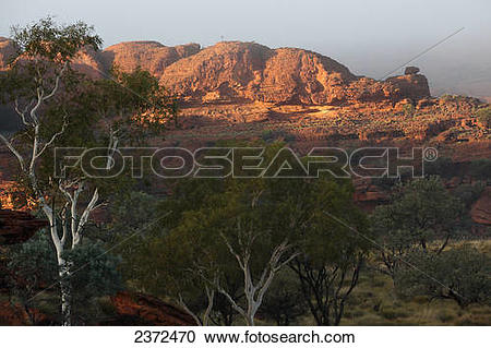 Stock Photography of Kings Canyon; Northern Territory, Australia.