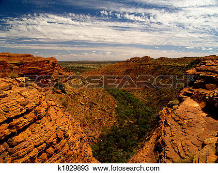 Stock Photo of Kings Canyon I k1829893.