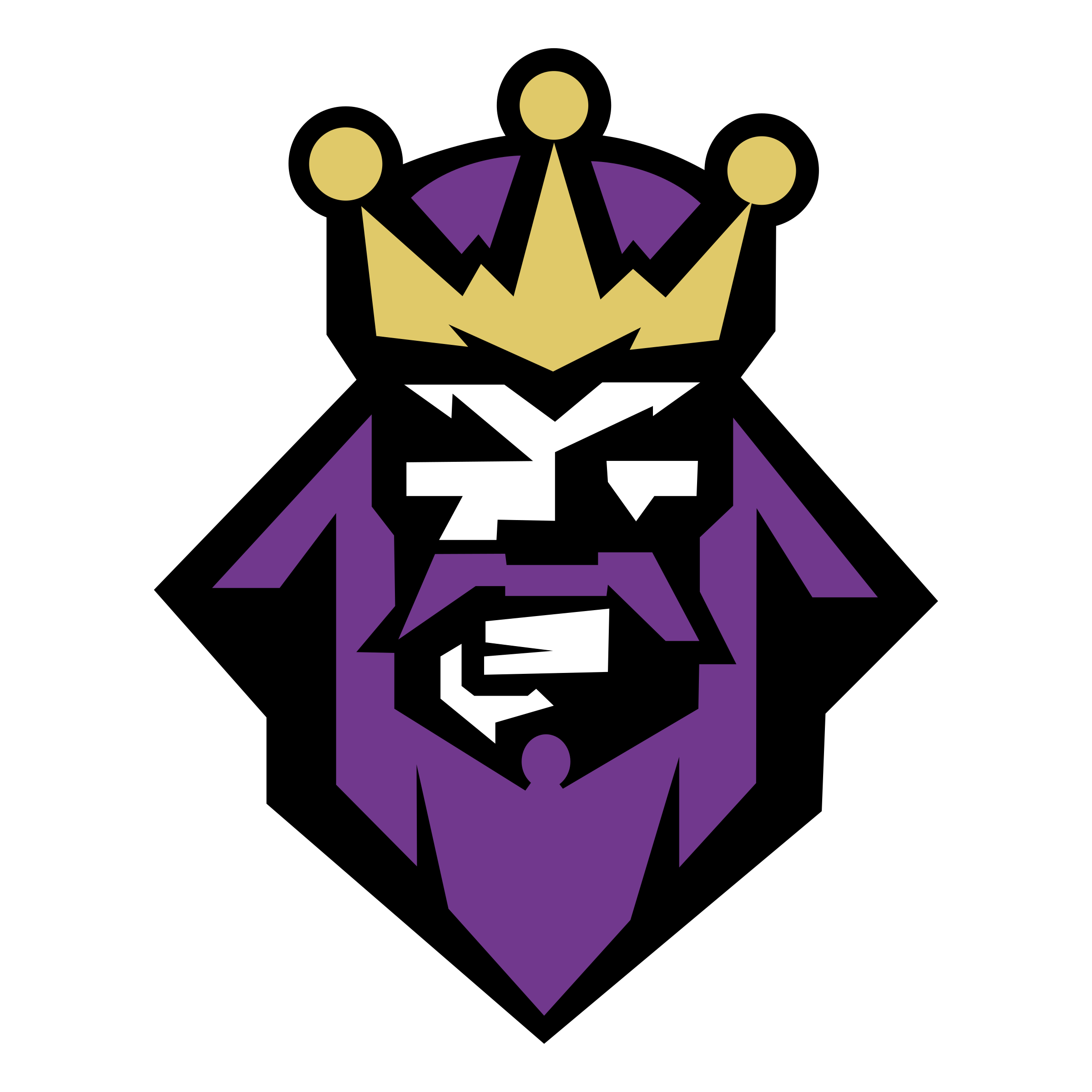 Los Angeles Kings Logo PNG Transparent & SVG Vector.