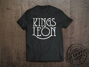New Kings Of Leon Logo Rock Band Men\'s White T.