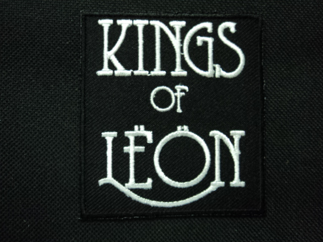KINGS OF LEON ROCK BAND MUSIC EMBROIDERY IRON ON PATCHES 50 pcs..