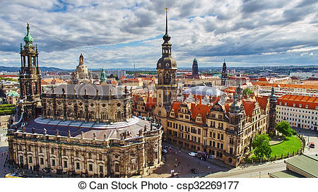 Picture of Dresden has a long history as the capital and royal.