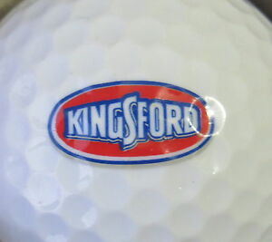 Details about (1) KINGSFORD CHARCOAL LOGO GOLF BALL.
