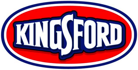 Does anyone know the Kingsford® charcoal logo font?.