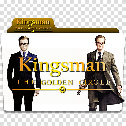Kingsman The Golden Circle Folder Icon.