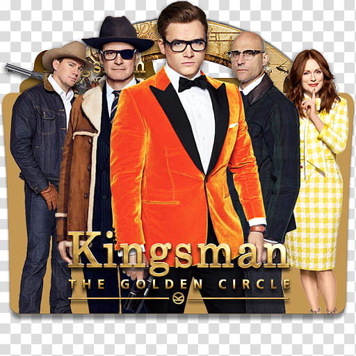 Kingsman The Golden Circle Folder Icon , Kingsman The Golden.