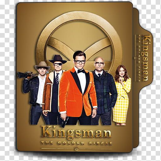 Kingsman The Golden Circle Folder Icon V, Kingsman The.