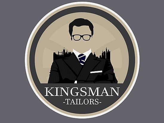 \'Kingsman Tailor Logo\' Photographic Print by snake.