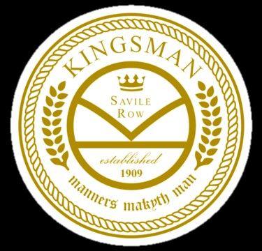 Kingsman logo in 2019.
