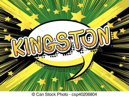 Vector Clipart of Kingston.