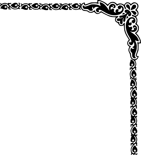 fancy lines clip art free.