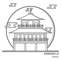 Kinkaku ji clipart #16