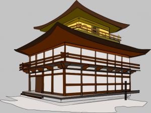 Temple Kinkakuji Japanese Clip Art Download.