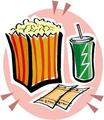 Cliparts Kino.