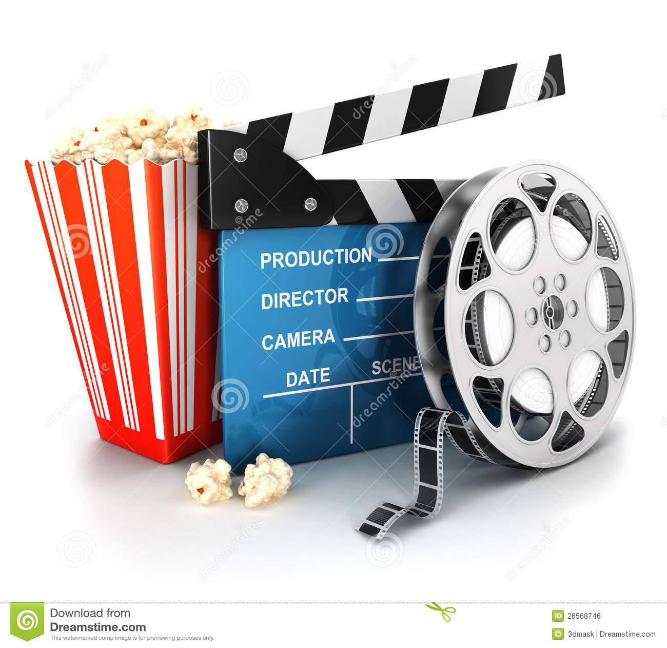 Popcorn Stock Illustrations.