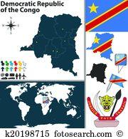 Congo kinshasa Clipart and Illustration. 132 congo kinshasa clip.