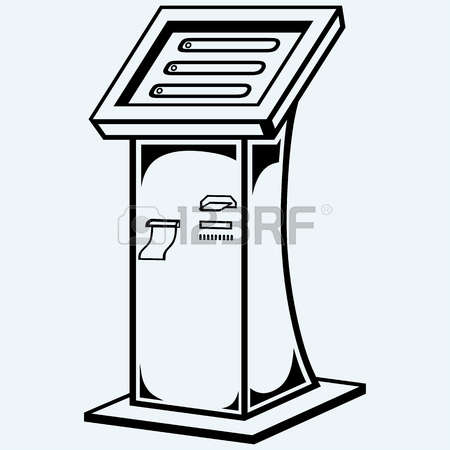3,763 Kiosk Stock Vector Illustration And Royalty Free Kiosk Clipart.