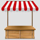 Kiosk clipart #5