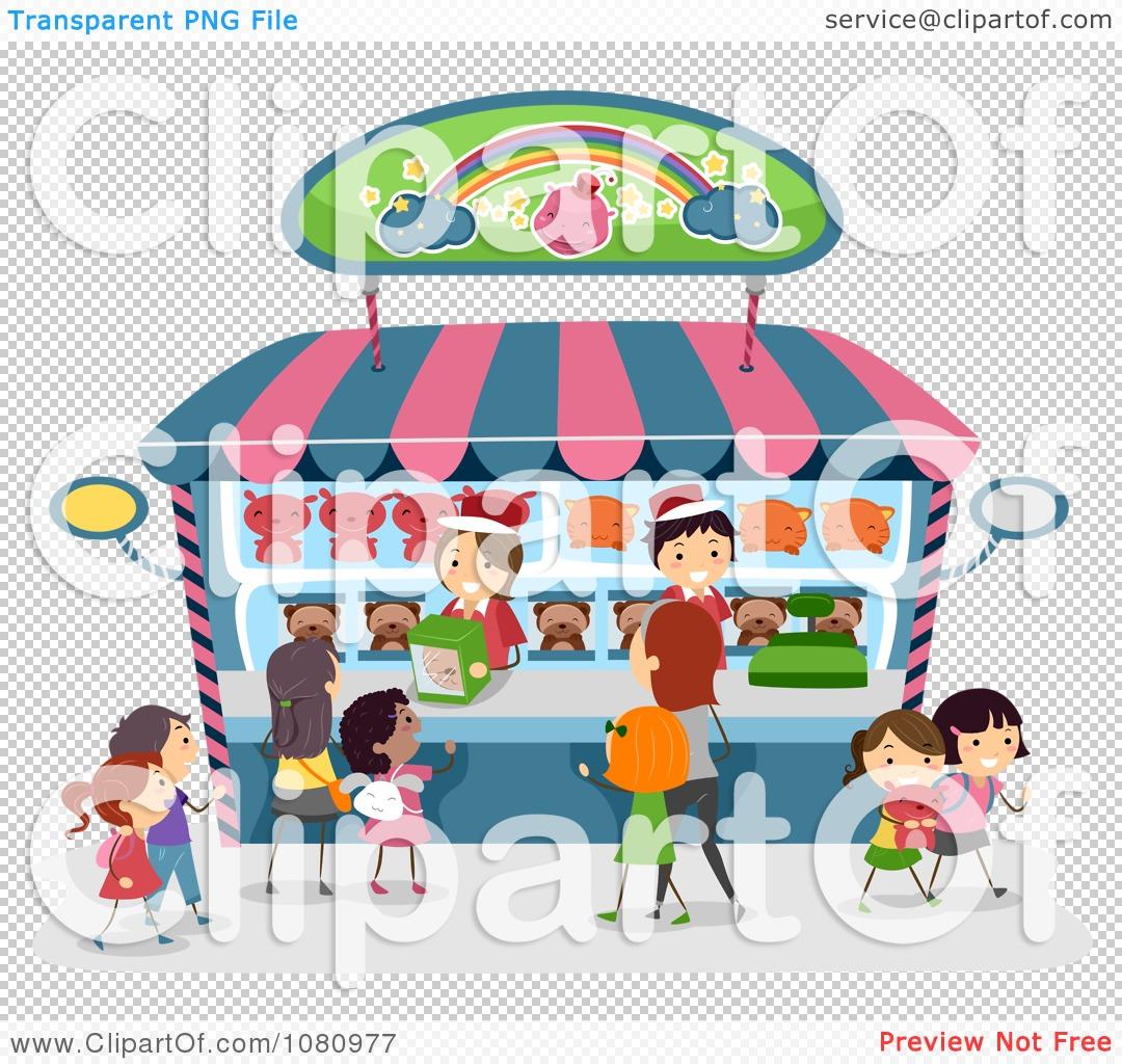 Kiosk clipart #7