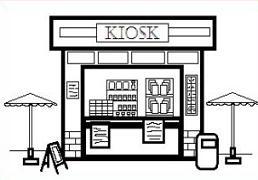 Free Kiosk Clipart.