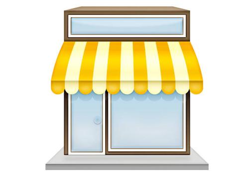Kiosk clipart #15