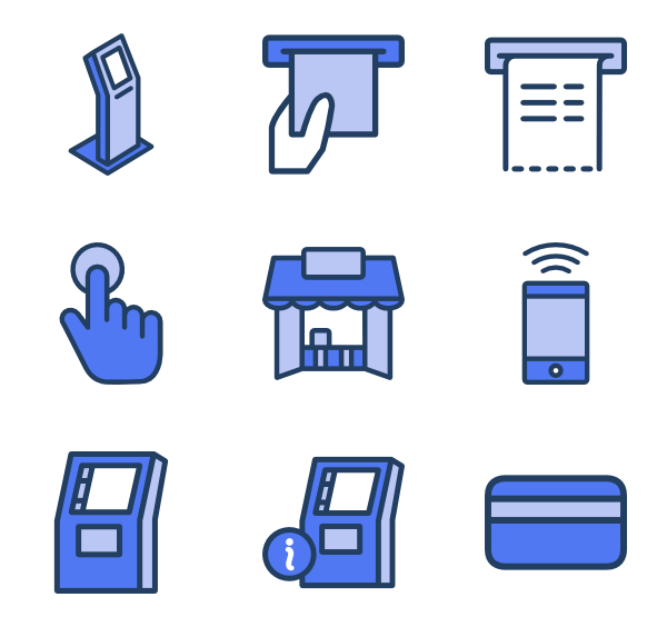 Kiosk Icons.