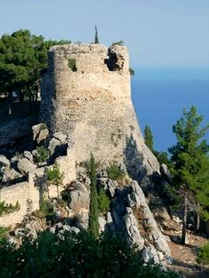 View From The Castle, Kyparissia, Greece.