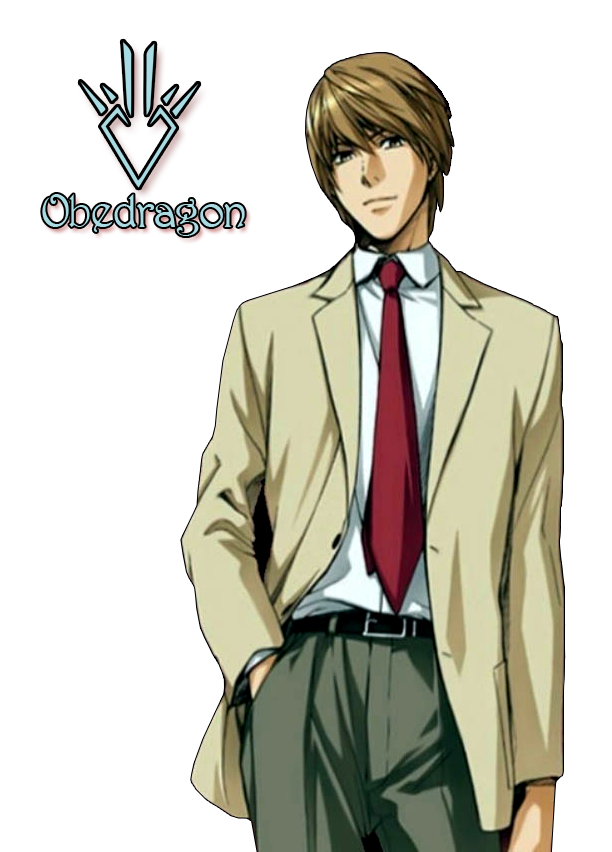 Kira Death Note Clipart.
