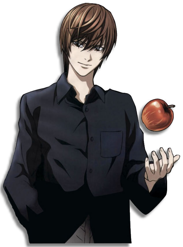 Death Note Kira Png Vector, Clipart, PSD.