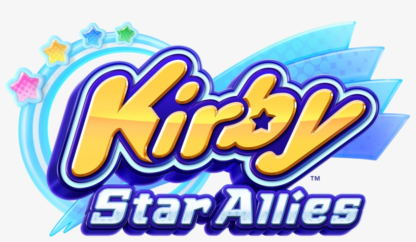 Kirby Star Allies Logo Png.