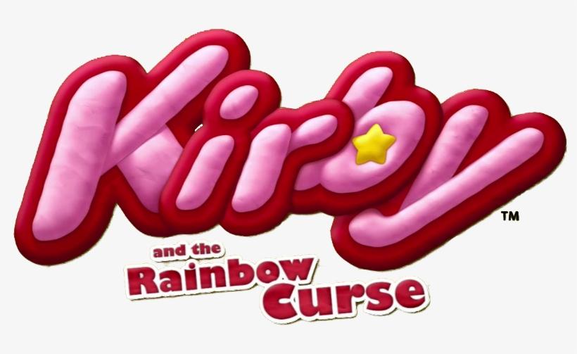 Kirby And The Rainbow Curse Logo.