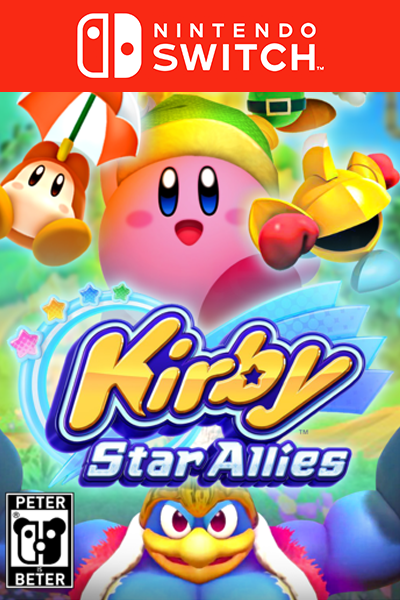 The cheapest Kirby Star Allies Nintendo Switch in Europe.