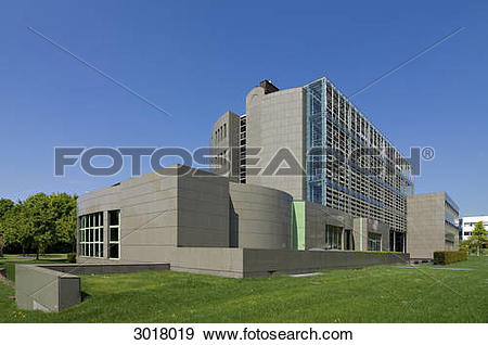 Stock Photograph of Exterior view of the Luxembourgian Chamber of.