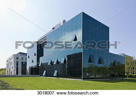 Picture of Office building of the Sal. Oppenheim Bank at the.