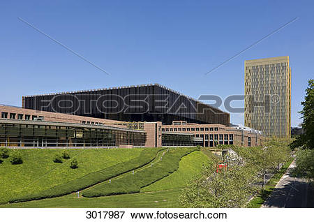 Picture of European Court of Justice at the Kirchberg, Luxembourg.