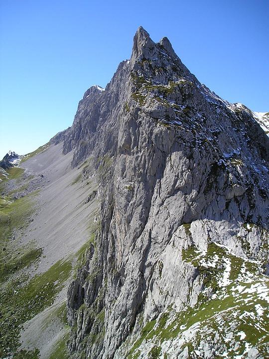 Extreme, Mountain, Climbing.