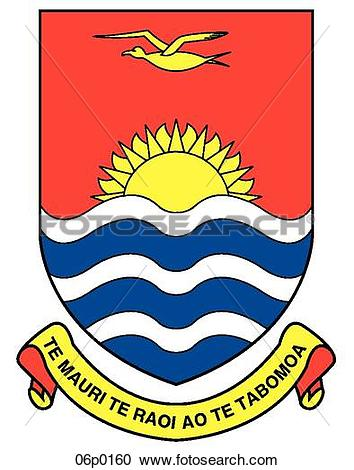 Clipart of kiribati 06p0160.