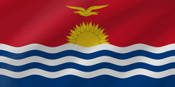 Kiribati flag clipart.