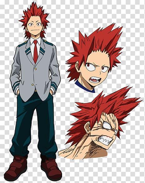 Eijirou Kirishima My Hero Academia Kohei Horikoshi Shoto.