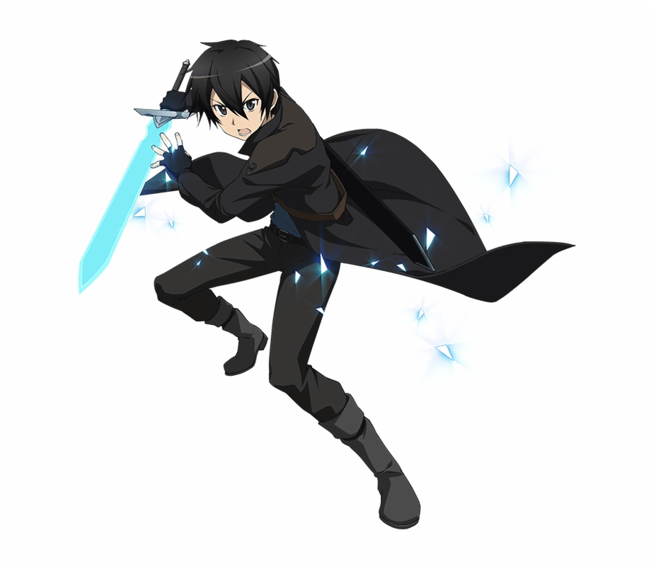 Sword Art Online Kirito Vs Dragon.
