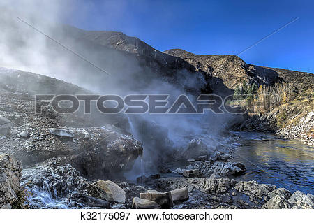 Picture of Kirkham Hotsprings in Idaho. k32175097.