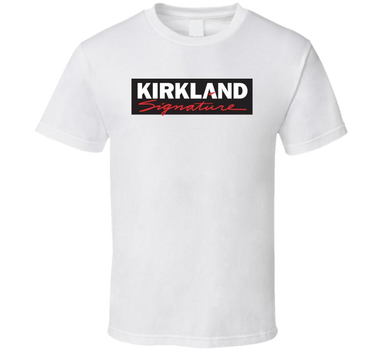 Kirkland Signature Logo T Shirt.