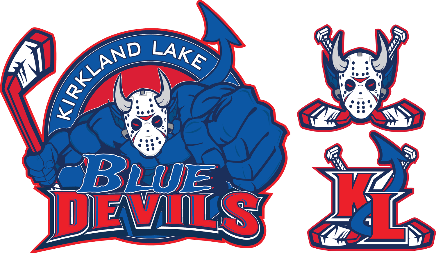 Serious, Modern Logo Design for Kirkland Lake Blue Devils by.